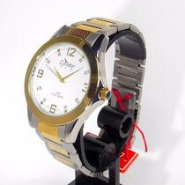 Kt70175b Relógio Masculino Condor New Analógico Aço Novo