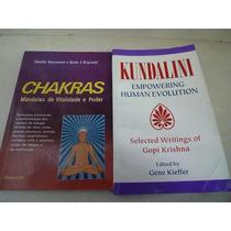 Livros Kundalini E Chacras ( Gopi Krishna, Yoga,gene Kieffer