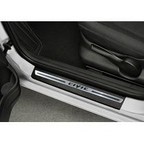 Jogo Soleira Aço Inox Premium Honda New Civic 2006 Á 2015 4p