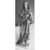 Estatua Imagem Sagrado Coração Jesus 60cm 12x S/ Juros