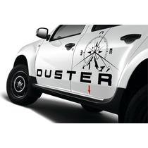 Adesivos Renault Duster Adventure Laterais Capô Tampa Trasei