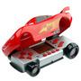Kit Minigame Mcqueen Vermelho E Relógio Carros - Candide