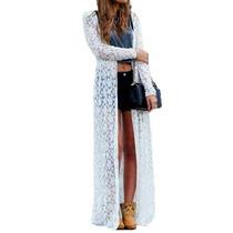 Kimono Feminino Rendas Longo Várias Cores - Sob Medida