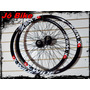Rodas X-wide Montadas Aro 26 Disc 36f Cubos/blocagem Jô Bike