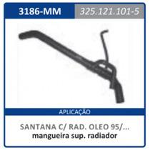 Mangueira Superior Radiador Com Rabichos E Santana:1995a2007