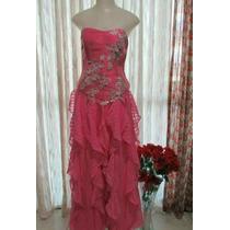 Vestido Formatura, Debutante, Madrinha Pink