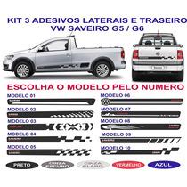 Acessorios Kit Adesivos Vw Saveiro G5 G6 Sport