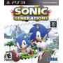 Sonic Generations Ps3 Semi-novo Perfeito Estado Mídia Física