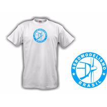 Camiseta Aeromodelismo Brasil Azul - Hobbie Brasil