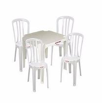 Conjunto De Mesas E Cadeiras Goiania Promoção P/ 100 Jogos
