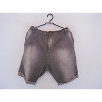 Shorts Masculina Jeans Cinza Cód. 767