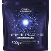 Pó Descolorante Loreal Infinie Platine Pro Keratine 8 Tons