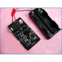 Kit Montar Mini Amplificador Transistor Pnp + Mic Eletreto