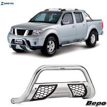 Parachoque Impulsão Bepo Cromado Grade Nissan Frontier 08/..