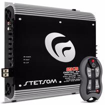 Módulo Stetsom 2k5 Es 1 Ohm 3330w Amplificador +controle Sx1