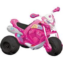 Moto Elétrica Infantil Trail Barbie El 6v Novo