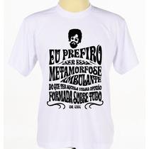 Camisa Camiseta Personalizada Estampada Raul Seixas Rock Pop