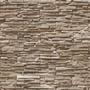 Papel De Parede Em 3d Pedras Canjiquinha Em Filetes Mod.79
