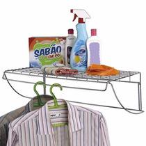 Suporte Prateleira Organizador Cozinha Dispensa E Armário.