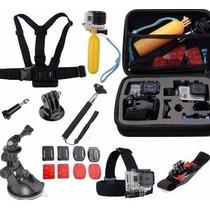 Kit Acessorios Gopro Hero 2 3 /3+ 4 Sj4000 Pronta Entrega