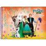 Caderno Cartografia E Desenho Frozen 96 Folhas Jandaia