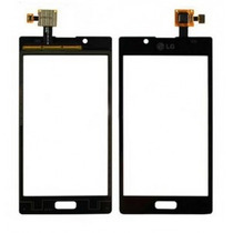 Vidro Touch Screen Celular Lg P705 Optimus L7 Preto - Branco