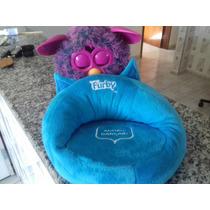 Furby Roxo + Sofá Fashion Exclusivo