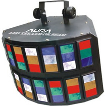 Multi Raio De Sol Led Color Beam Aura Rgbwa Dmx Áudiorítmico