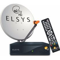 Kit Elsys Oitv Livre Hd Etrs35 Completo Antena 60cm Original