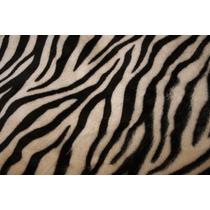 Manta Pelo Curto Zebra Fundo Fotografico 100 X 80cm Lindo***