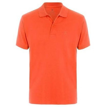 Camisa Masculina Pólo Stanley Bad Boy Laranja Branco/brilhos