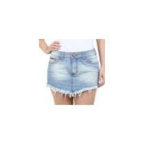 Short Saia Feminino Em Jeans People