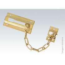 Fecho De Segurança Para Portas Tipo Pega Ladrao Dourado