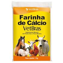 Farinha De Cálcio Vet Bras 1kg