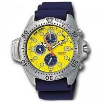 Relógio Citizen Aqualand Ay5000-13y Raridade Novo Cal. 3740