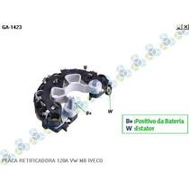Placa Retificadora 120a Mercedes Caminhao 2428 - Gauss