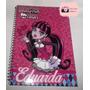 Caderno Personalizado Com Nome Do Monster High De 1 Materia