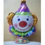 Balão Metalizado Palhaço Grande Circo Tamanho 83