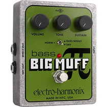 Pedal Electro Harmonix Bass Big Muff Pi Distortion