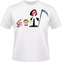 Camiseta Billy E Mandy Infantil