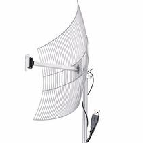 Kit Cliente Usb Antena De 25 Dbi Cabo Usb 10m Frete Gratis