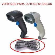 Cabo Usb Para Leitor Quickscan / Datalogic / Elgin Qd2130