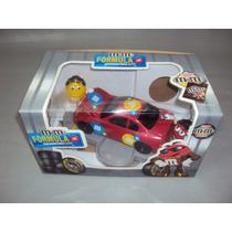 Brinquedo Antigo, Dispenser Chocolate M&m S Stock Car.