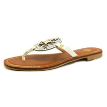 Yellow Box Romona Mulheres Synthetic Thong Sandal