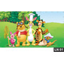 Ursinho Pooh Puff Painel 2,00x1,00 Lona Festa Aniversario