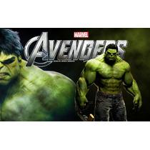 Painel Para Festa Aniversário Vingadores Hulk V3