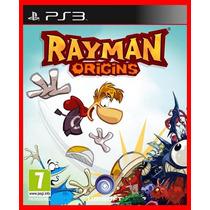 Rayman Origins Ps3 Código Psn Aventura Infantil