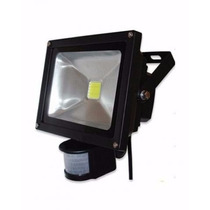 Refletor Maxtel C/sensor Presença Led 30 Wats Branco Frio