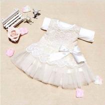 Vestido Batizado / Saida De Maternidade ##pronta Entrega##