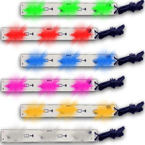 Kit Com 4 Barras Neon Leds 12v Iluminação Interna.